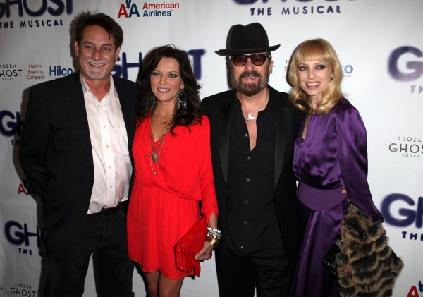 John & Martina McBride, Dave Stewart & Guest at GHOST THE MUSICAL Opening Night Red Carpet!
