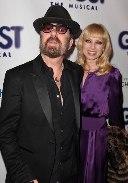 Dave Stewart & Guest at GHOST THE MUSICAL Opening Night Red Carpet!