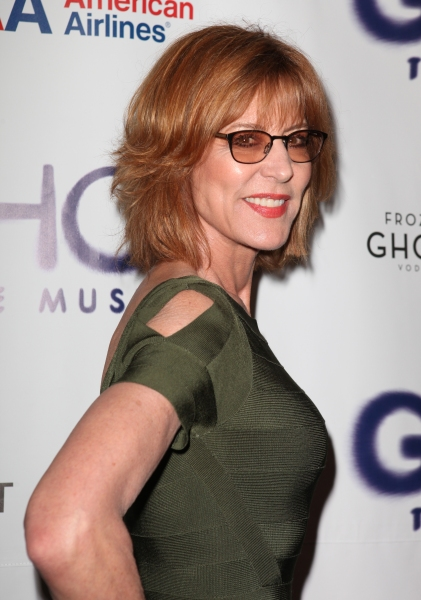 Christine Lahti  at GHOST THE MUSICAL Opening Night Red Carpet!