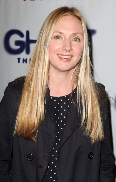 Hope Davis  at GHOST THE MUSICAL Opening Night Red Carpet!