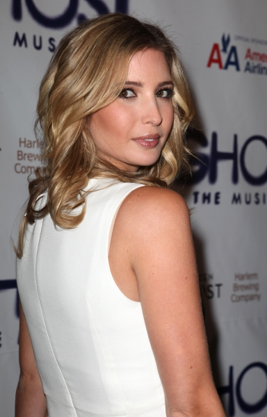 Ivanka Trump at GHOST THE MUSICAL Opening Night Red Carpet!