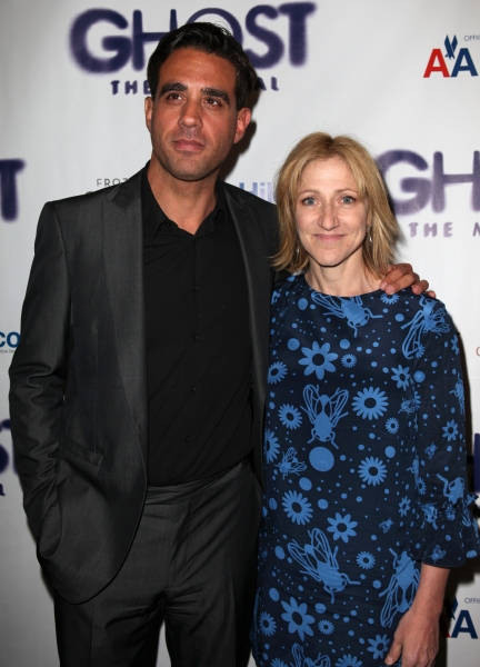 Bobby Cannavale & Edie Falco at GHOST THE MUSICAL Opening Night Red Carpet!