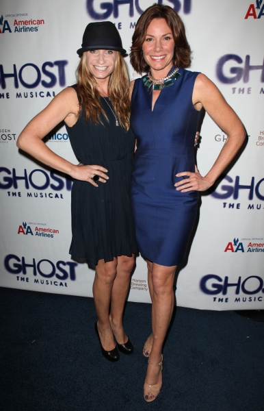 Heather Thomson & Luann De Lesseps  at GHOST THE MUSICAL Opening Night Red Carpet!