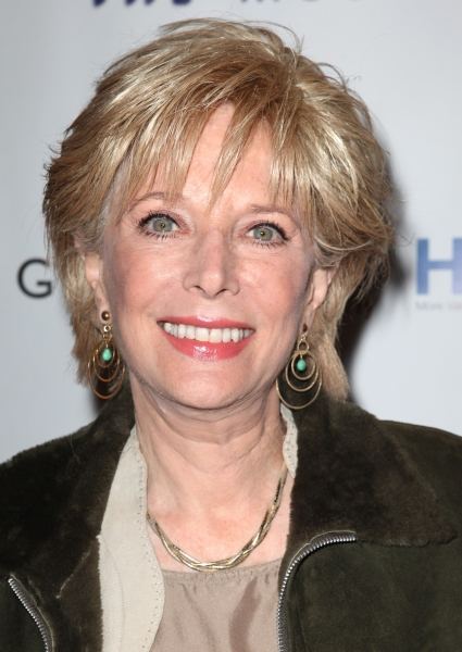 Lesley Stahl  at GHOST THE MUSICAL Opening Night Red Carpet!