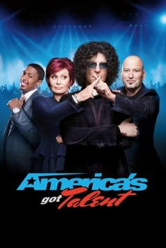 Nick Cannon, Sharon Osbourne, Howard Stern & Howie Mandel