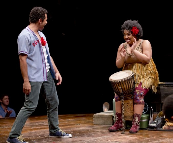 Photo Coverage: First Look at Corbin Bleu in GODSPELL!