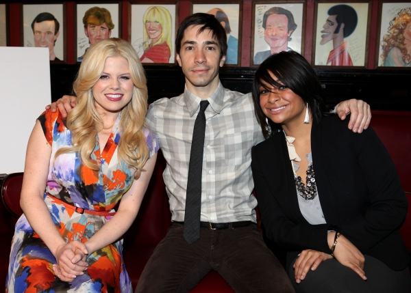 FREEZE FRAME: Megan Hilty, Justin Long, Raven-Symone Announce Drama League Nominees!