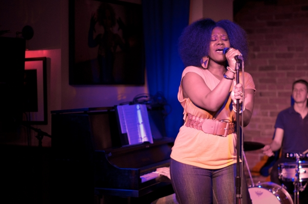 Phyre Hawkins at Morgan James, Phyre Hawkins, et al. at BROADWAY RHYTHM & BOOZE