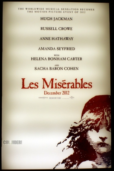 Photo Flash: First Look at LES MISERABLES Film Poster!