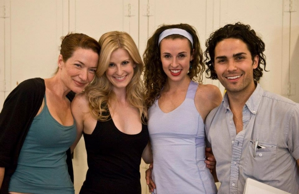 Photo Flash: Victoria Clark, et al. in Rehearsal for FOLLIES LA!