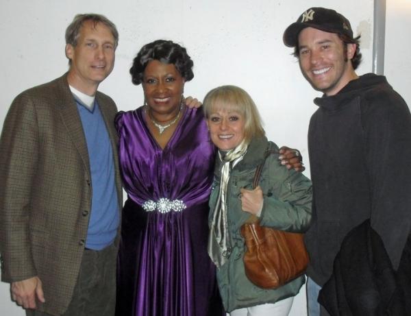 Gregg Edelman, Miche Braden, Tracie Bennett and Tom Pelphrey Photo