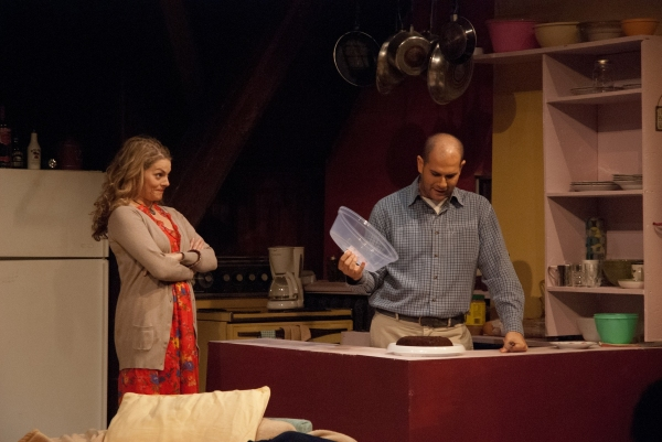 Jennifer Morris and Yehuda Fisher at Panfish Productions' THE MELVILLE BOYS - Starring Yehuda Fisher, Chris George & More