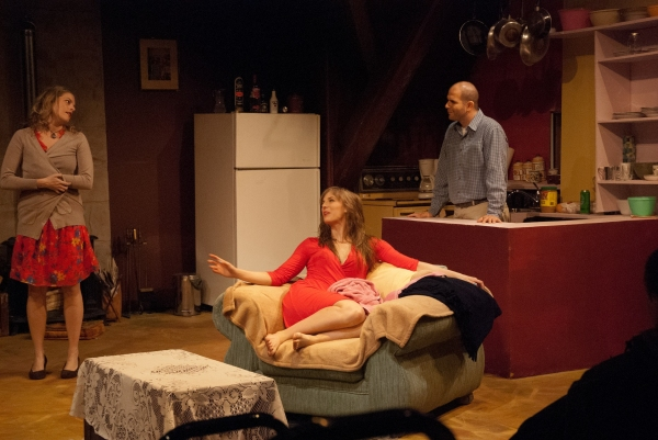Jennifer Morris, Alaine Hutton and Yehuda Fisher at Panfish Productions' THE MELVILLE BOYS - Starring Yehuda Fisher, Chris George & More