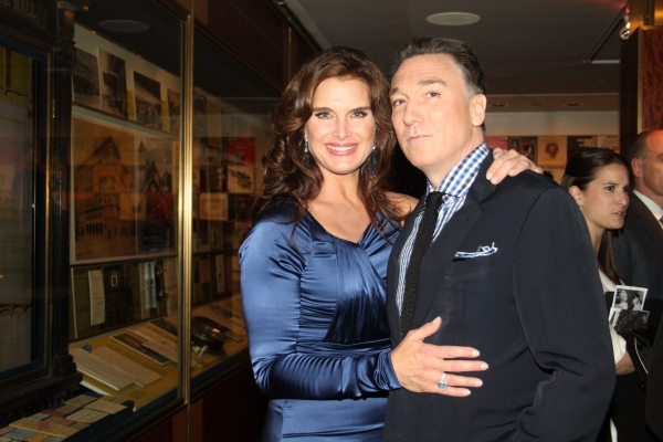 Brook Shields and Patrick Page