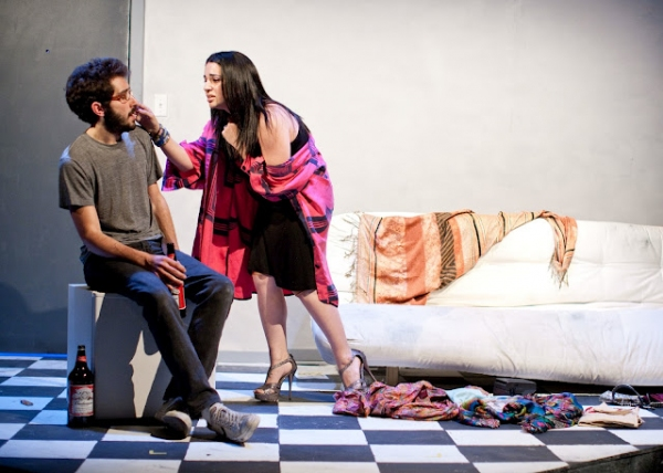Micah B. Chartrand & Leah Bachar at First Look at Perf Productions' DEGENERATION X