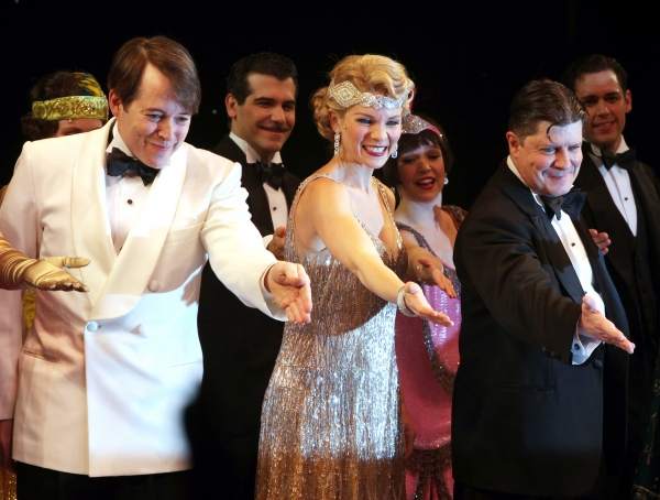 Photo Coverage: NICE WORK IF YOU CAN GET IT - Opening Night Curtain Call!