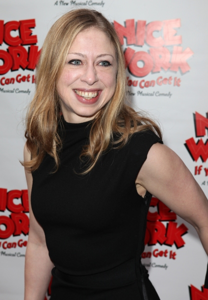 Chelsea Clinton at NICE WORK IF YOU CAN GET IT Starry Opening Night Arrivals!