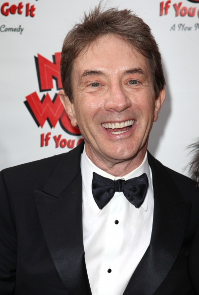 Martin Short  at NICE WORK IF YOU CAN GET IT Starry Opening Night Arrivals!