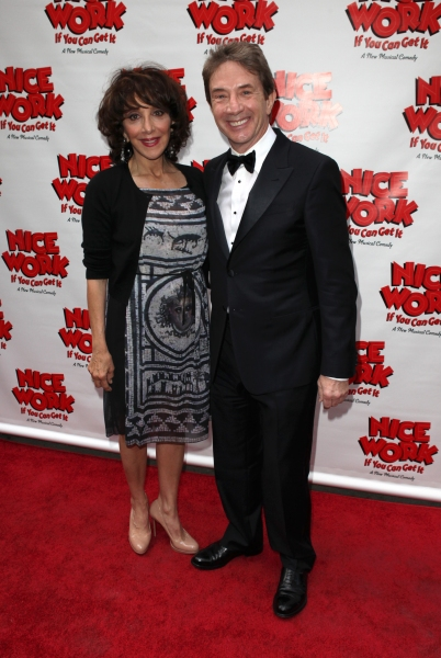 Andrea Martin & Martin Short at NICE WORK IF YOU CAN GET IT Starry Opening Night Arrivals!