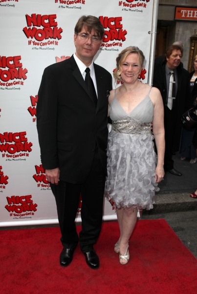 Kathleen Marshall & Scott Landis at NICE WORK IF YOU CAN GET IT Starry Opening Night Arrivals!