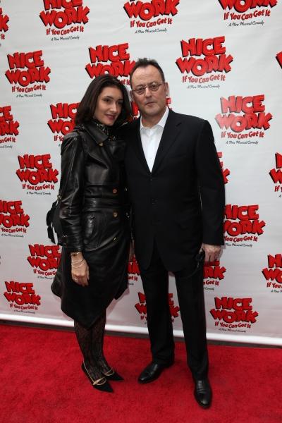 Zofia Borucka & Jean Reno