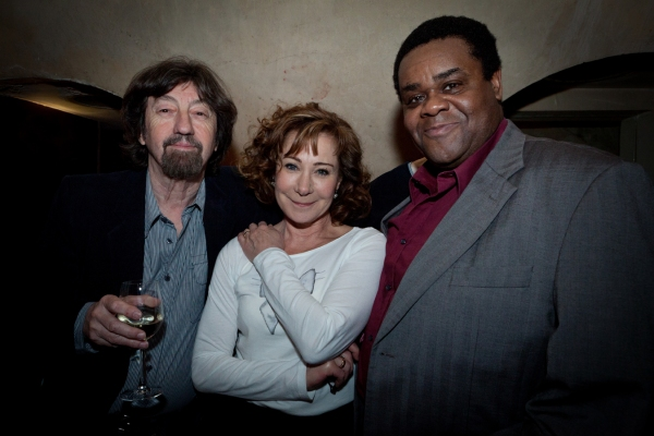 Trevor Nunn, Zoe Wanamaker and Clive Rowe at Digital Theatre & Routlege Team Up for International Performing Arts Archive
