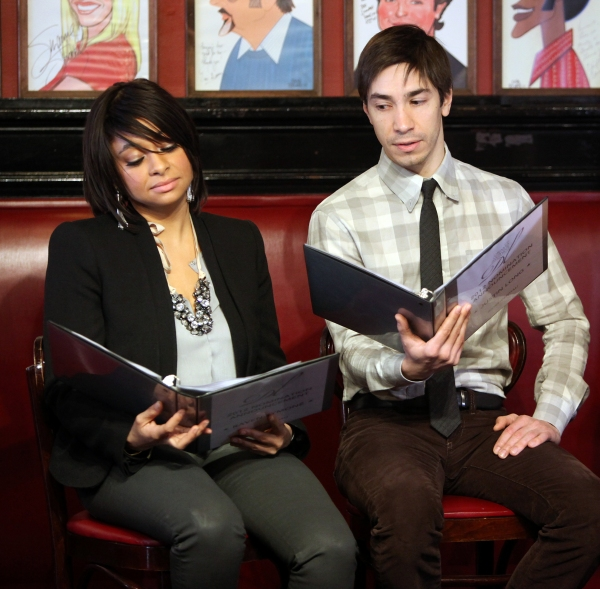 Raven-Symone,  Justin Long  at Megan Hilty, Justin Long & Raven-Symone Announce Drama League Nominations!