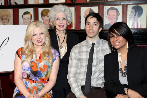 Megan Hilty,  Jano Herbosch, Justin Long, Raven-Symone  at Megan Hilty, Justin Long & Raven-Symone Announce Drama League Nominations!