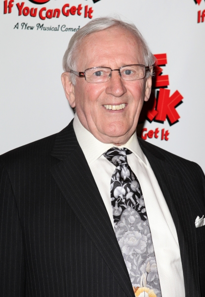 Len Cariou  at NICE WORK IF YOU CAN GET IT- the Opening Night After Party!