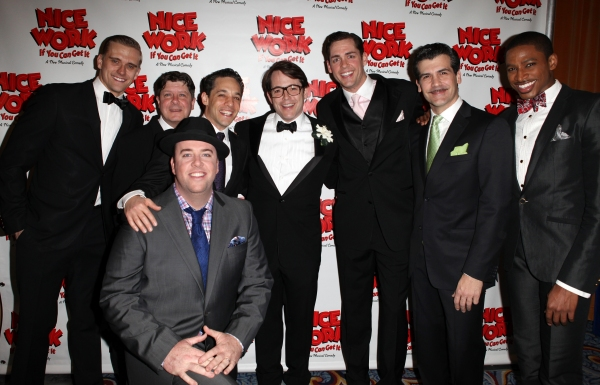 Photo Coverage: NICE WORK IF YOU CAN GET IT- the Opening Night After Party!