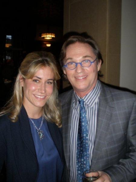 Berry Brown with Richard Thomas  Photo