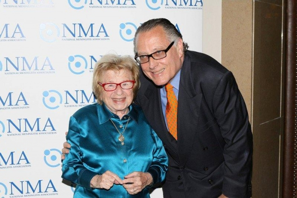 Dr. Ruth Westheimer and Errol Rappaport