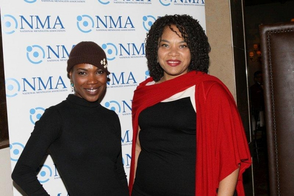 Playwright Director  Kenyetta Lethridge and producer Diana Zollicoffer of Innocent Flesh Off-Broadway at Actors Temple Theatre