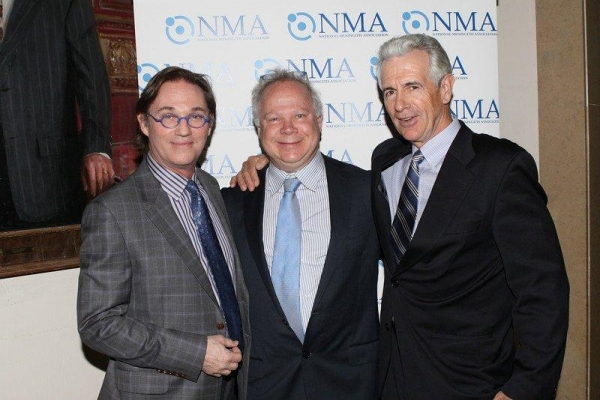 Richard Thomas, Gary Springer and James Naughton