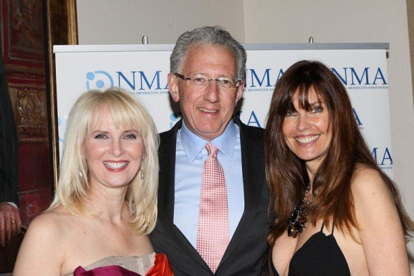 Honorees Sara Herbert-Galloway and Barry J. Klarberg  with Carol Alt