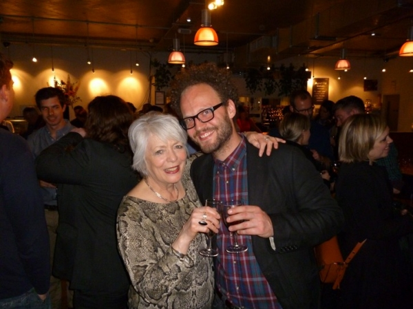 Alison Steadman and Alex Beckett