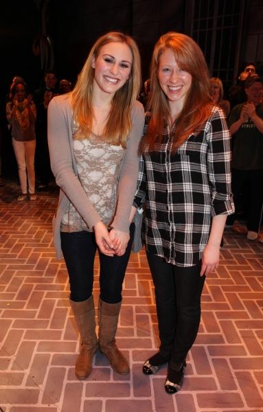 Making their Broadway Debuts: Stephanie Martignetti & Kaitlyn Davidson