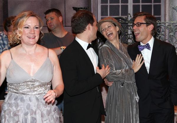 Kathleen Marshall, David Eggers (Gypsy Recepient - CURTAINS), Kelli O'Hara, Eric Scio Photo