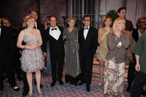 Kathleen Marshall, David Eggers (Gypsy Recepient - CURTAINS), Kelli O'Hara, Eric Sciotto (Gypsy Recepient - PAL JOEY),  Robyn Hurder & Company