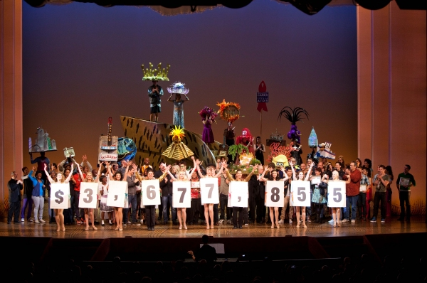 Photo Coverage: BC/EFA Easter Bonnet Competition Day 2 with Audra McDonald, Ricky Martin & More!