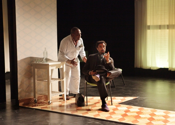 Greig Sargeant as Vanya and Edward O'Blenis as Astrov  Photo