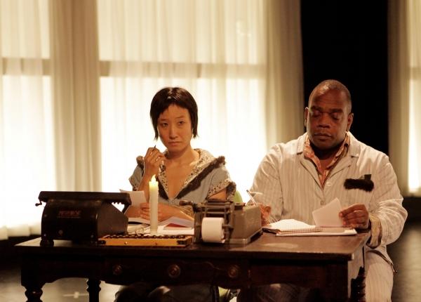 Susan Hyon as Sonya and Greig Sargeant as Vanya Photo