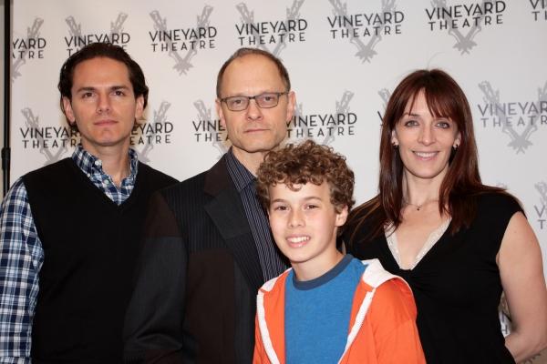 Paul Anthony Stewart, David Hyde Pierce, Jake Bennett Siegfried, Julia Murney