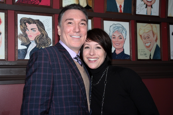 Photo Coverage: Patrick Page Gets a Birthday Caricature at Sardi's