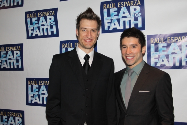 Bryce Ryness and Ian Paget at LEAP OF FAITH - Opening Night Party!
