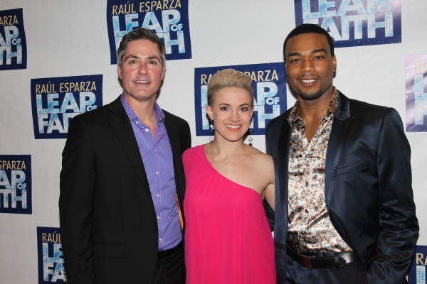 Bob Gaynor, Betsy Struxness and Grasan Kingsberry at LEAP OF FAITH - Opening Night Party!