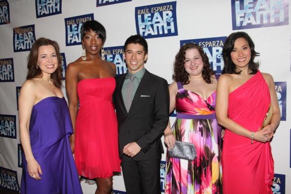 Michelle Duffy, Hettie Barnhill, Ian Paget, Dierde Friel and Ann Sanders Photo