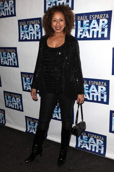 Tamara Tunie  at LEAP OF FAITH Opening Night Red Carpet!