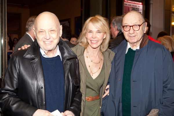 Neil Simon at DON'T DRESS FOR DINNER Arrivals - Laura Osnes, Jim Parsons & More!