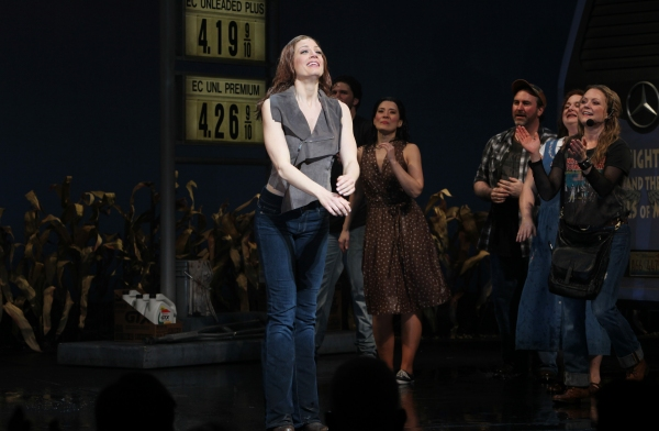 Photo Coverage:  LEAP OF FAITH - Opening Night Curtain Call!